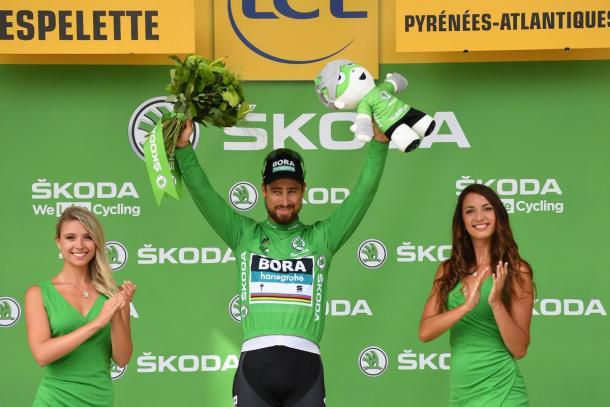 Peter Sagan campeón de la regularidad. Foto: @LeTour