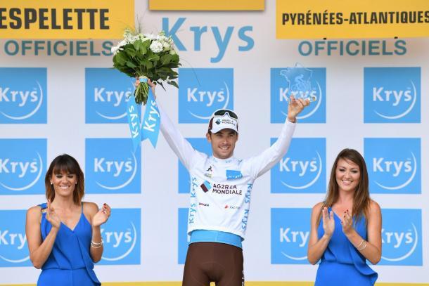 Pierre Latour mejor joven del Tour de Francia 2018. Foto: @LeTour
