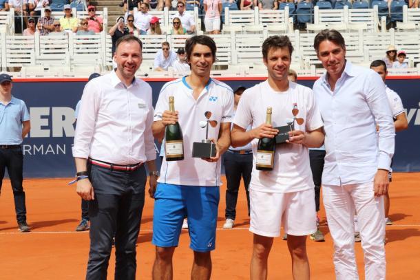 Sexto título para la dupla sudamericana. | Foto: Prensa German Open.