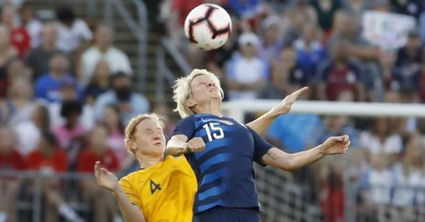 The second half was pretty scrappy with tackles flying in from both sides | Source: David Butler II-USA TODAY Sports