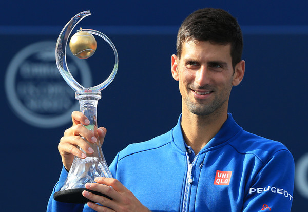 Novak Djokovic won the Rogers Cup last time he played back in 2016 in Toronto. Photo: Vaughn Ridley/Getty Images
