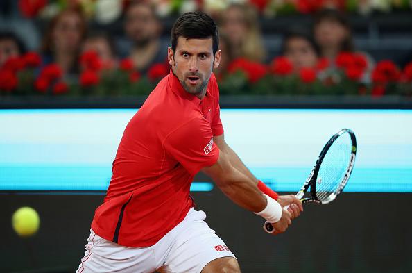 Novak Djokovic advances to face Kei Nishikori in the semifinals in Madrid. | Photo: Clive Brunskill/Getty Images