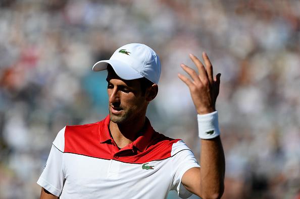 Djokovic esteve perto da vitória, mas ficou com o vice em Queen's (Foto: Patrik Lundin/Getty Images for LTA)