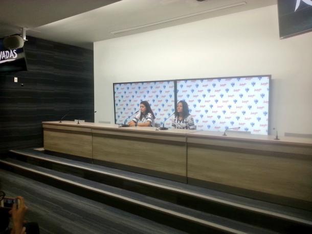 DanielaSolis y Rebeca Bernal    Foto: Juan Carlos Monroy / VAVEL México
