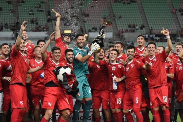 Independiente Campeón de la Suruga Bank