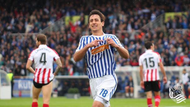 Oyarzabal seguirá siendo de la Real. | Foto: Real Sociedad