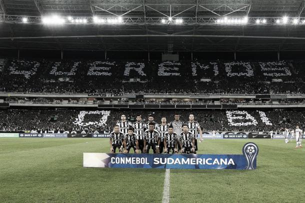 Festa alvinegra no Nilton Santos. Foto: Vitor Silva/SSPress/Botafogo