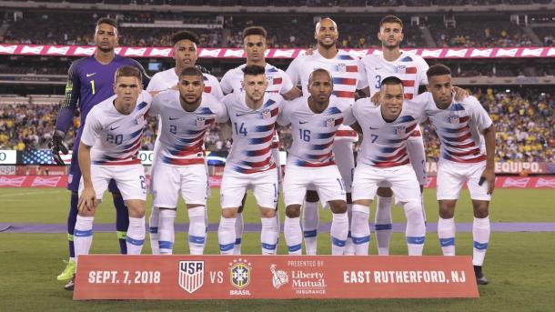 La selección de las barras y las estrellas en pleno cambio generacional | Foto: U.S . Soccer