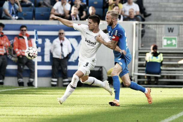 (Hoffenheim 1-2 E. Frankfurt   Foto: Bundesliga)