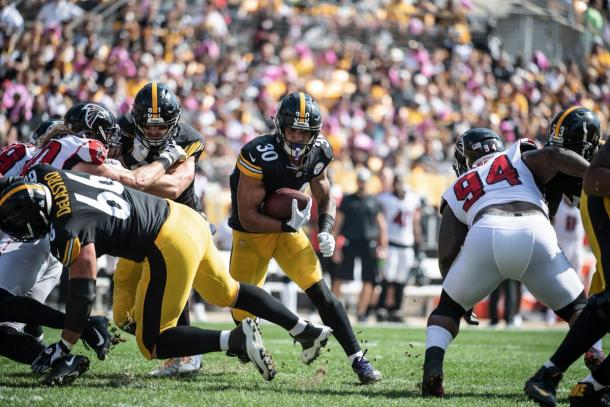 James Conner continues to build his reputation each week | Source: steelers.com