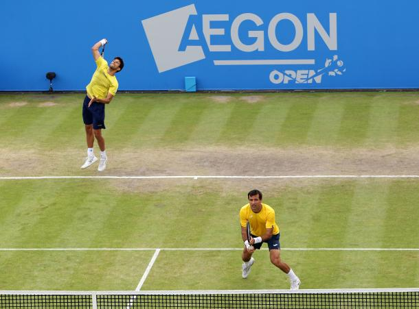 Dodig/Melo were bidding for their fifth title as a team. Photo: Getty