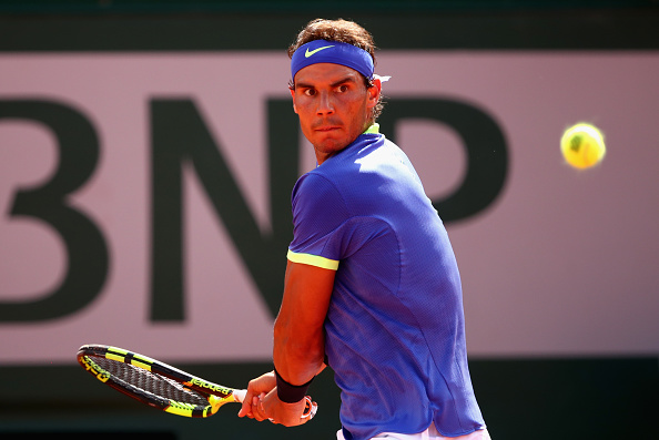 Rafael Nadal gearing up to hit a shot (Photo: Julian Finney/Getty Images)
