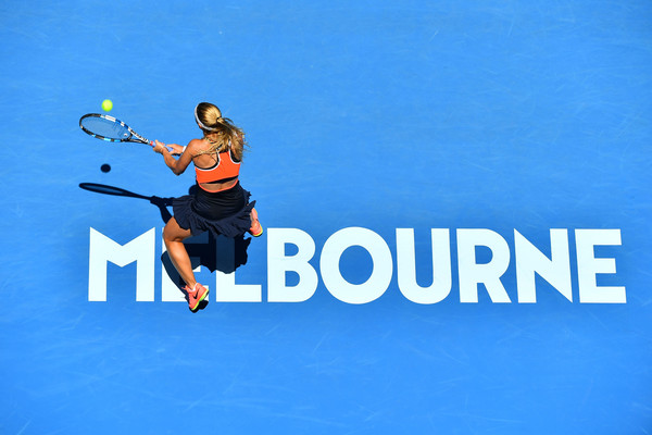Dominika Cibulkova crashes out of the Australian Open | Photo: Quinn Rooney/Getty Images AsiaPac