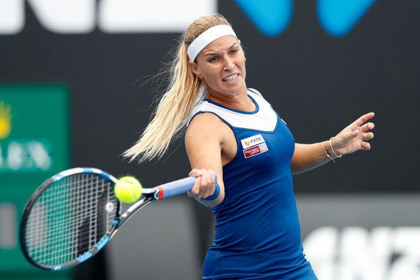 Dominika Cibulkova has only reached one quarterfinal this year, at the Apia International Sydney | Photo: Michael Dodge/Getty Images AsiaPac