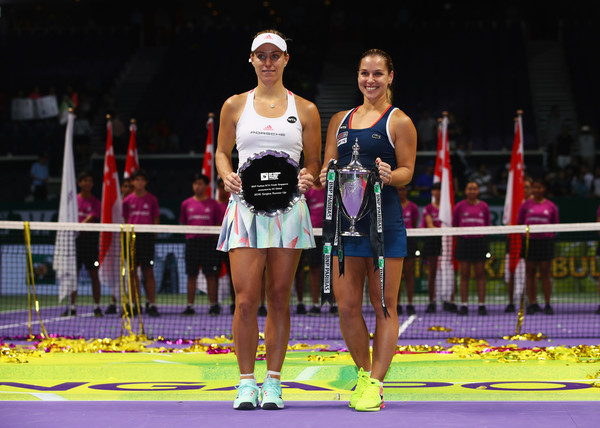 Dominika Cibulkova defeated Angelique Kerber in the final of the WTA Finals last year | Photo: Clive Brunskill/Getty Images AsiaPac