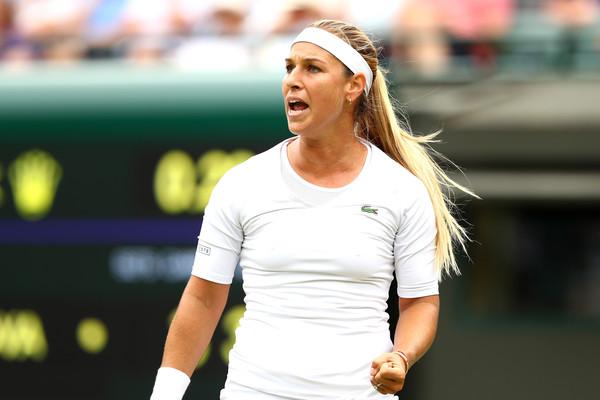 Dominika Cibulkova reached the quarterfinals of Wimbledon | Photo: Matthew Stockman/Getty Images Europe
