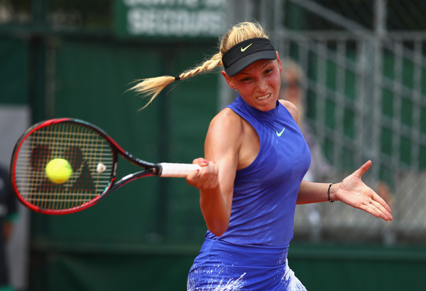 Donna Vekic in action | Photo: Clive Brunskill/Getty Images Europe