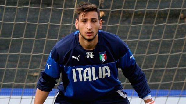 Donnarumma recently got his first minutes for the national side / Gazetta World