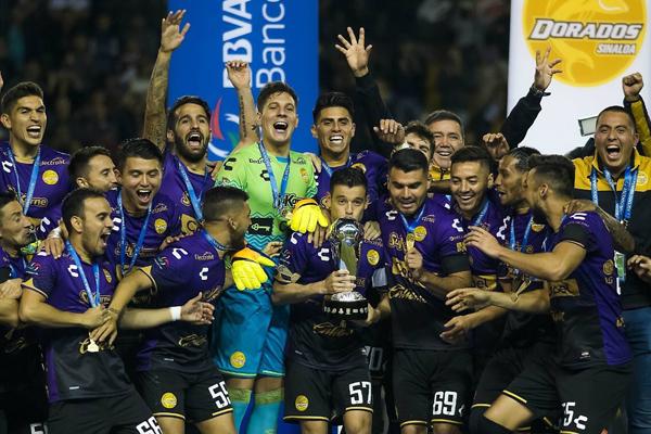 Dorados festejando el título ante Atlante | Foto: Imago7