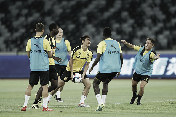 Dortmund stars are put through their paces - Getty Images Sport / Lintao Zhang