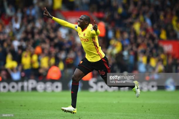 Doucoure has been passed fit to play but will he start? Source | Getty Images.