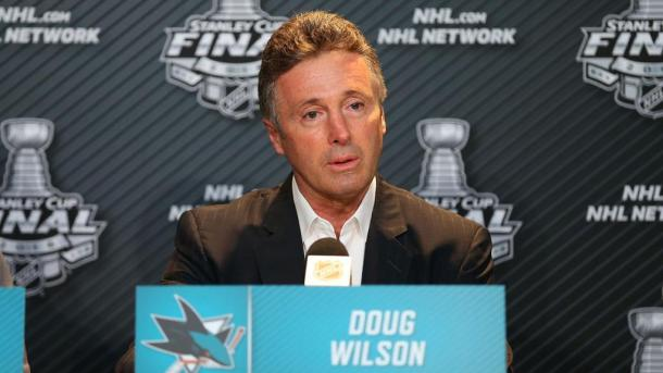 Doug Wilson, GM de San José Sharks / NHL.com