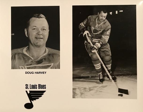 Doug Harvey y su paso por los Blues (Amazon)
