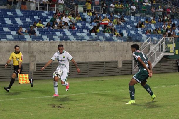 Douradão marcou único gol sobre Verdão do Norte ainda no primeiro tempo