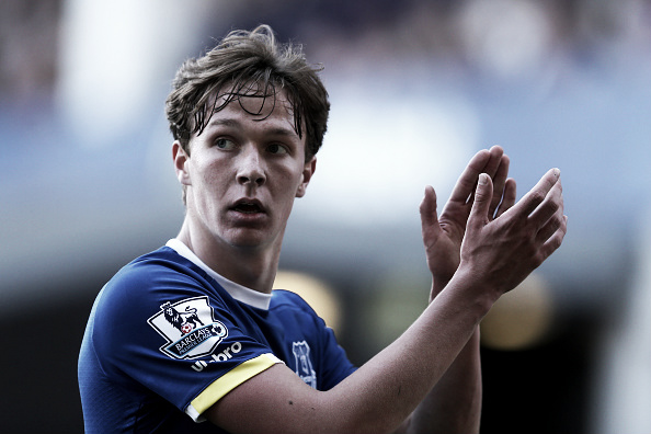 Kieran Dowell in action against Norwich City. Photo: Chris Brunskill/Getty Images