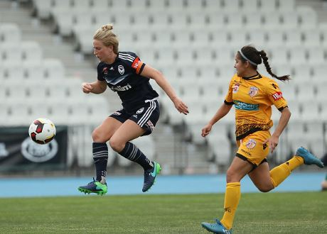 Natasha Dowie starred for the Melbourne Victory | Source: Robert Cianflone - Getty Images