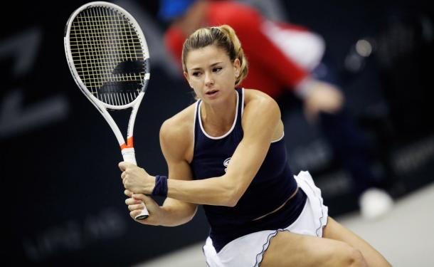 It was a fantastic performance from Camila Giorgi today | Photo: GEPA Pictures