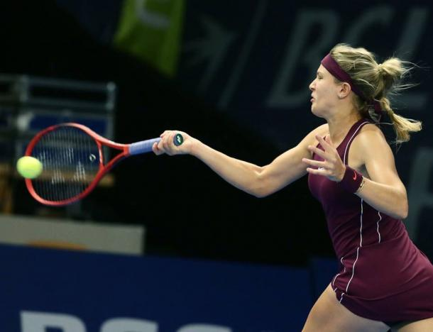 Eugenie Bouchard fired 26 winners in 53 minutes today | Photo: BGL BNP Paribas Luxembourg Open