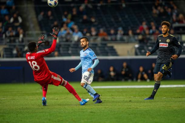 Maximiliano Moralez was at the heart of a great win by NYCFC | Source: nycfc.com