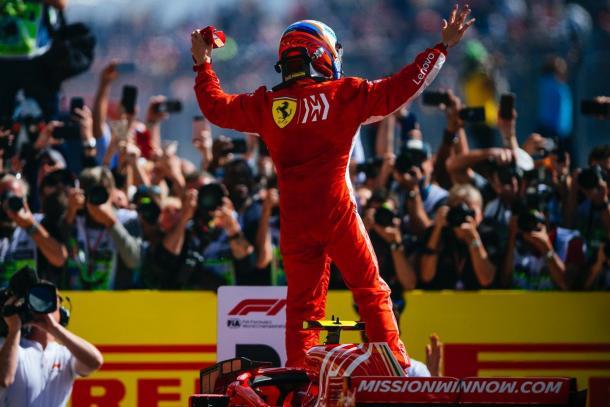 GP Stati Uniti: trionfo di Raikkonen su Ferrari con rimpianti