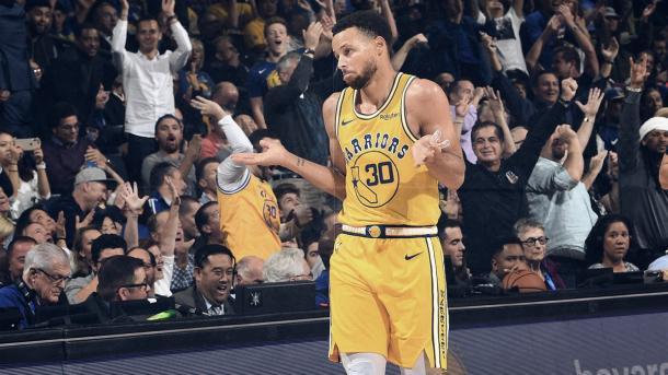 Curry venía siendo una de las principales armas anotadoras de Golden State | Foto: Warriors