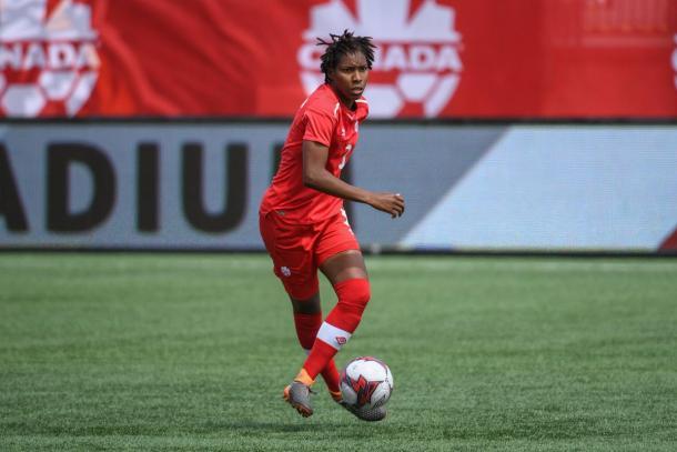 Kadeisha Buchanan has become vital for Canada since her debut in 2013   Source: canadasoccer.com