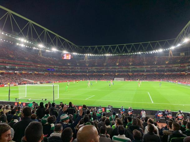 Varios aficionados portugueses se desplazaron. Fuente: Sporting de Lisboa