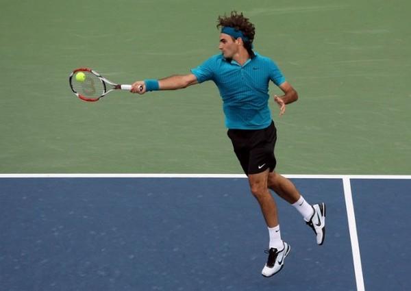 Drive de Federer Foto: Puntodebreak