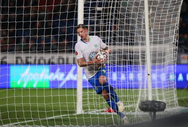 (Weghorst ha marcado 5 goles en la temporada | Foto: @VfLWolfsburg_ES)