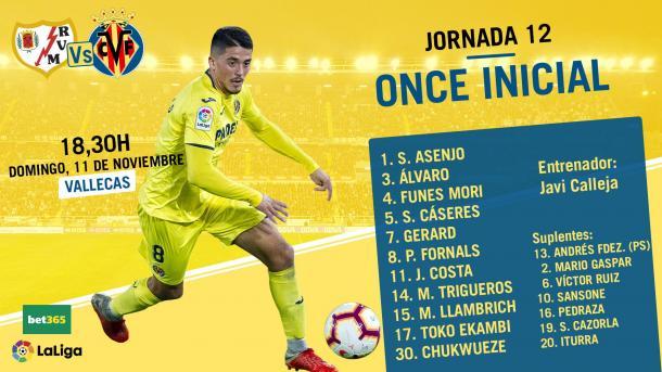 Once Villarreal / Foto: @VillarrealCF