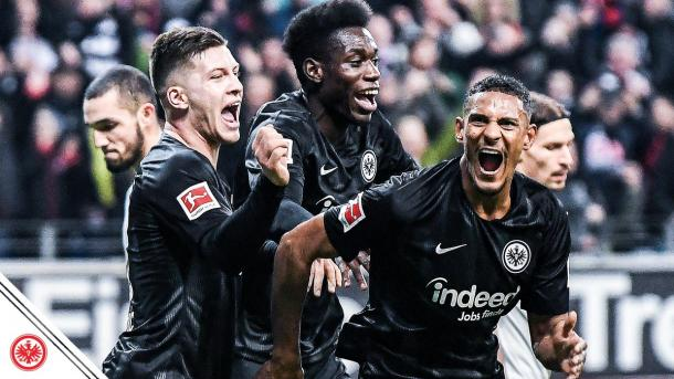(E. Frankfurt 3-0 Schalke | Foto: @Eintracht)