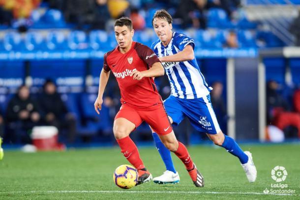Ben Yedder fue el autor del único gol Sevillista   Foto: La Liga Santander