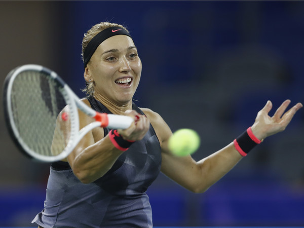 Elena Vesnina will need to improve on her performance if she were to mount a deep run here in Wuhan | Photo: Kevin Lee/Getty Images AsiaPac