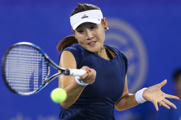 Duan Yingying hits a forehand | Photo: Yifan Ding/Getty Images AsiaPac