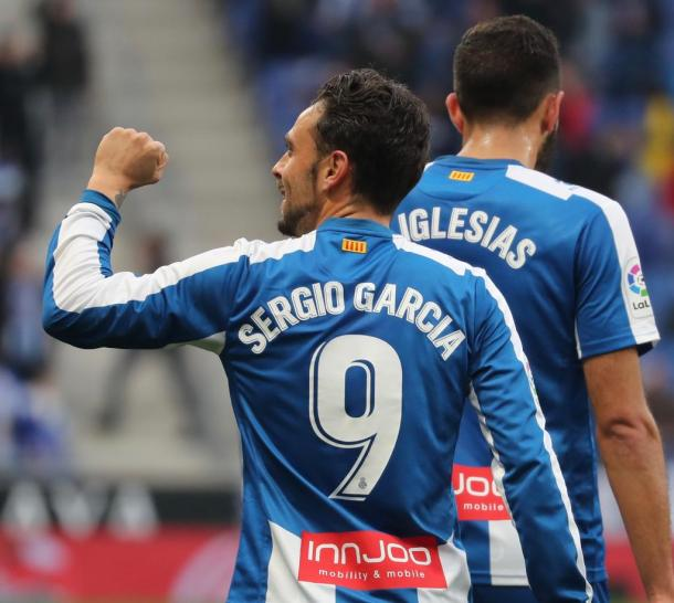 Sergio García avanzó a los blanquiazules | Foto: RCD Espanyol