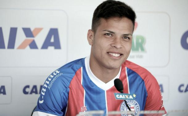 Matheus Silva, ex-Paysandu (Foto: Divulgação/EC Bahia