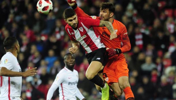 Encuentro del pasado jueves | Foto: Sevilla FC