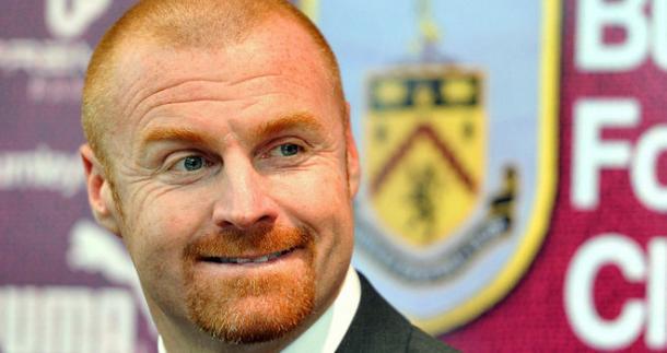 Sean Dyche ante los medios ayer. Foto:Burnley.