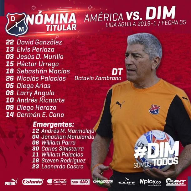 Independiente Medellín a levantar cabeza en Cali