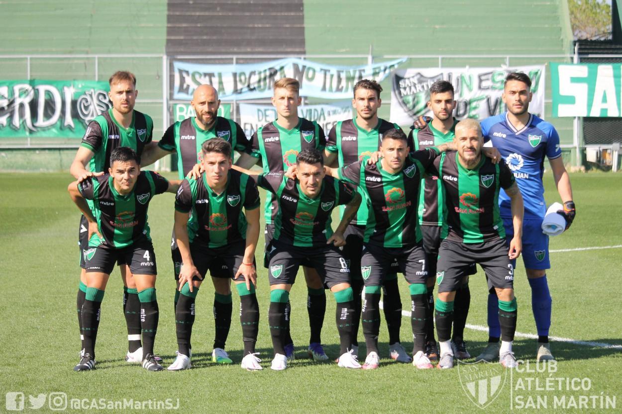 Después de tres fechas regresaron Cozzani, Álvarez y Giménez | Foto:@CASanMartinSJ